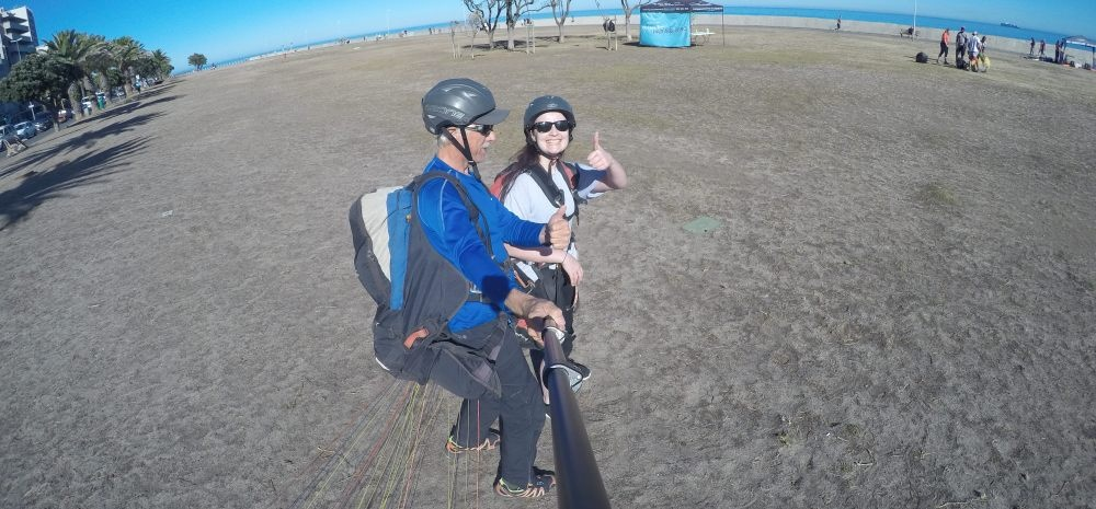 Tandem Paragliding Experience in Cape Town-9