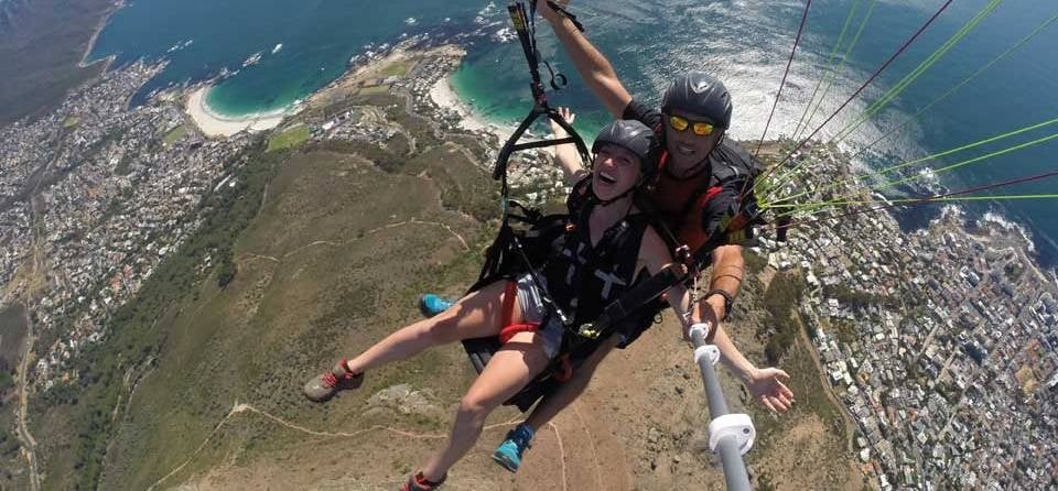 Tandem Paragliding Experience in Cape Town-4
