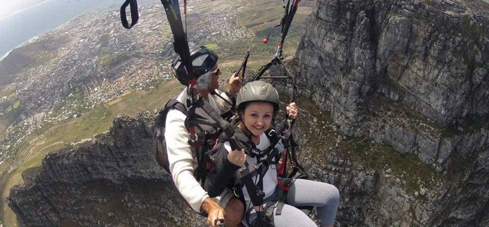 Tandem Paragliding Experience in Cape Town-6