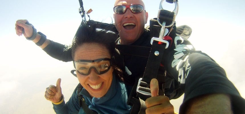 Tandem Skydive With Video and Photo Package - Parys-5
