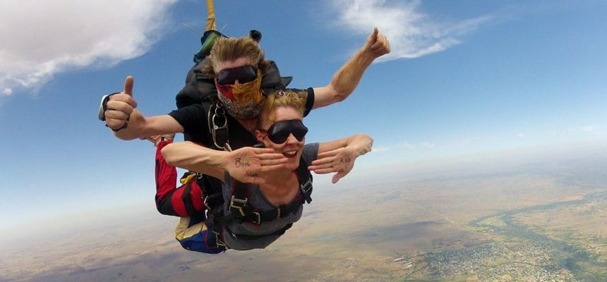 Tandem Skydive With Video and Photo Package - Parys-1