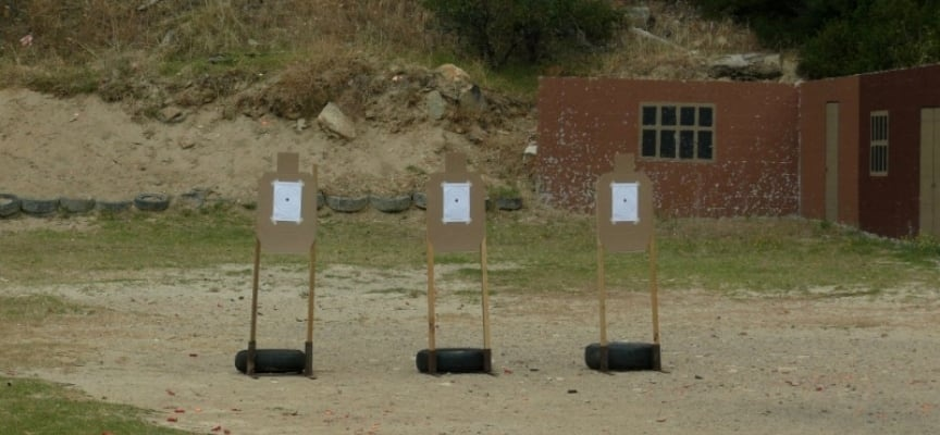 2 Gun Shooting Experience in Simon's Town - Mini-2