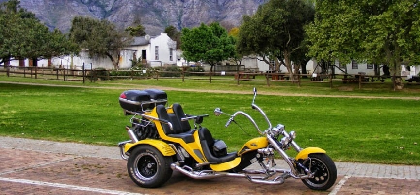 Winelands Trike Sightseeing Tour For Two-2