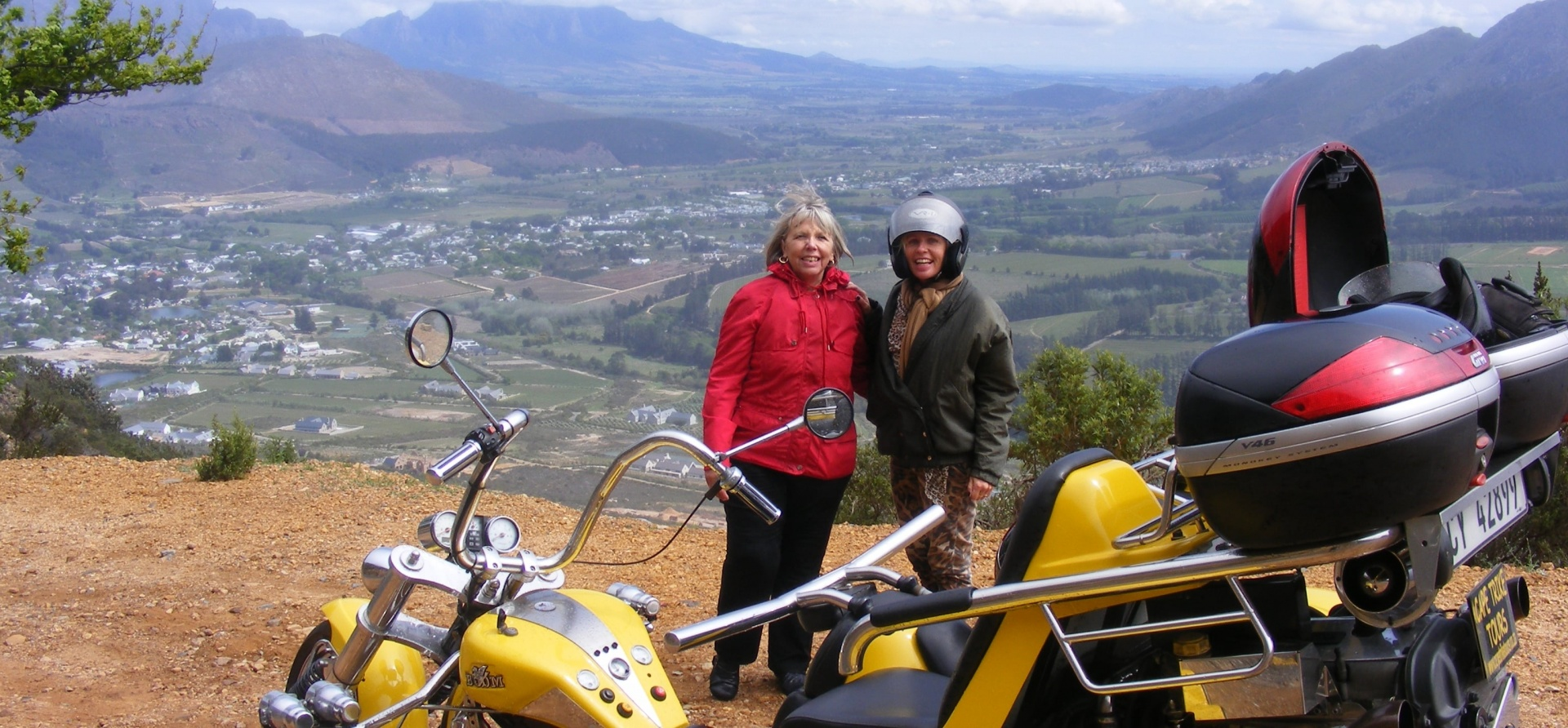 Winelands Trike Sightseeing Tour For Two-1