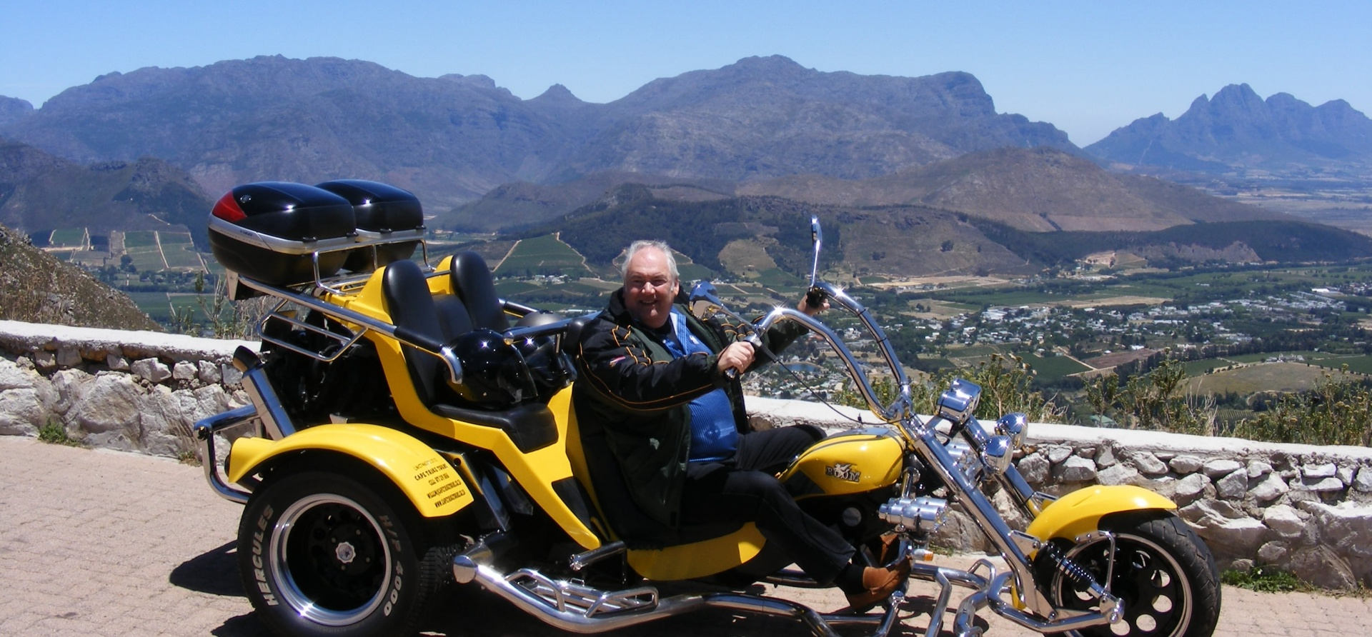 Winelands Trike Sightseeing Tour For Two-5