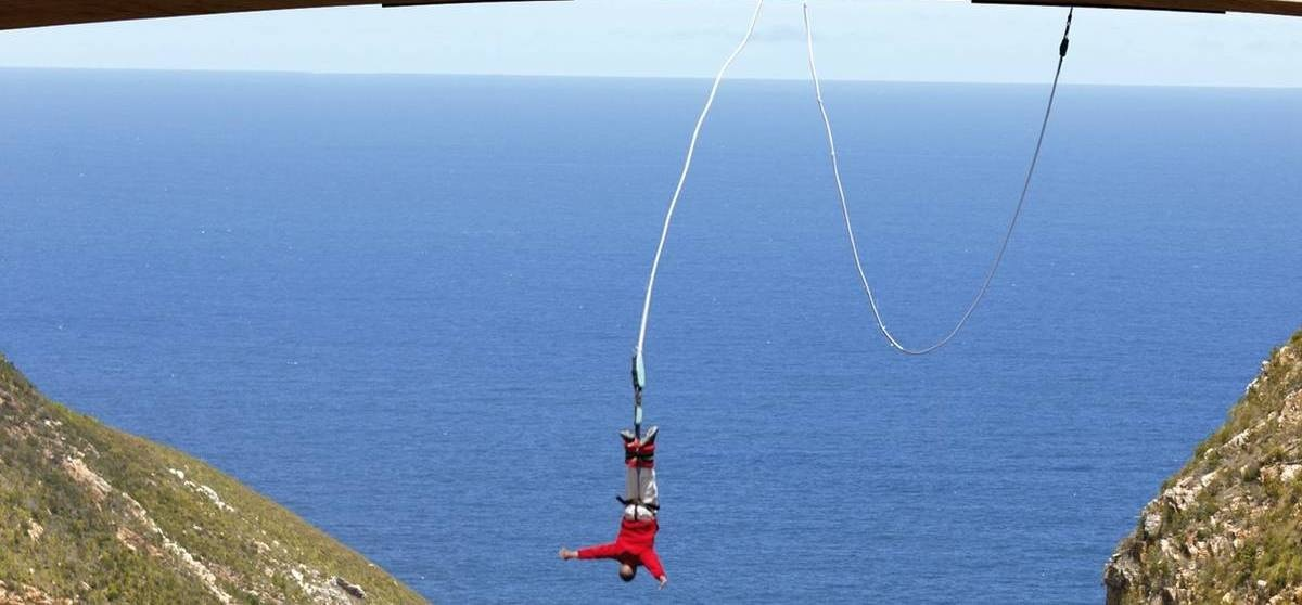 World's Highest Bridge Bungy Jump - Bloukrans River-4