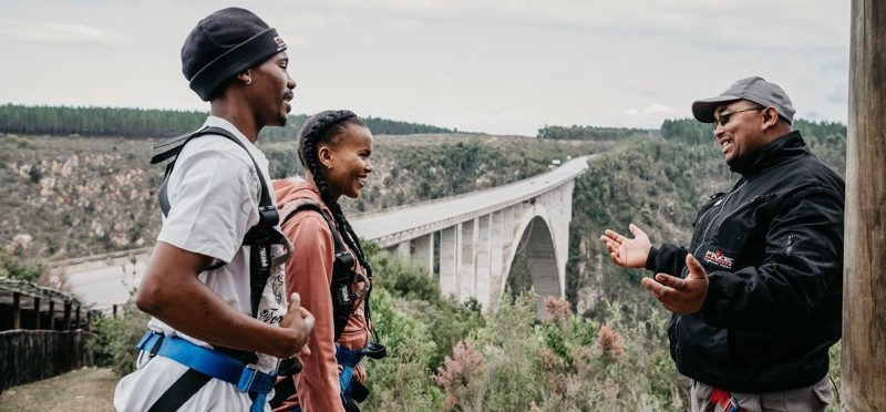 World's Highest Bridge Bungy Jump - Bloukrans River-6