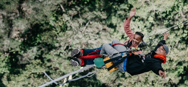 World's Highest Bridge Bungy Jump - Bloukrans River-10