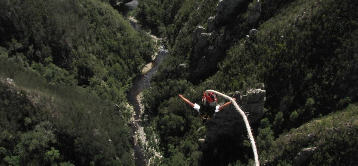 World's Highest Bridge Bungy Jump - Bloukrans River-1