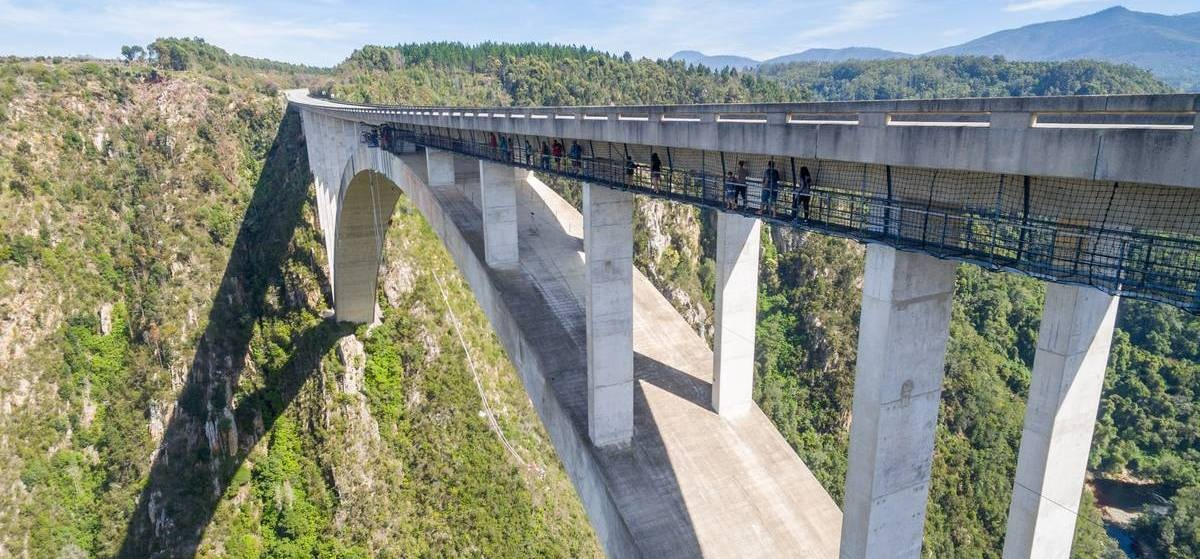 World's Highest Bridge Bungy Jump - Bloukrans River-8