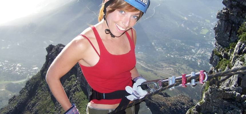 112 Metre Abseil From Table Mountain-2