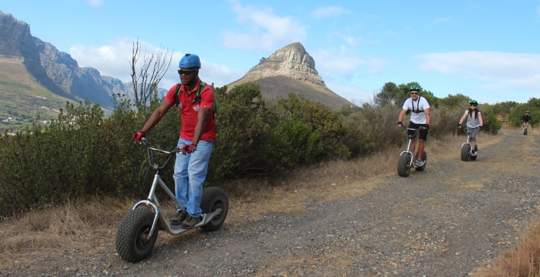 Table Mountain Scootour Experience Review