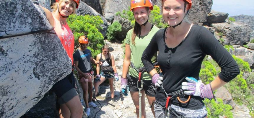 112 Metre Abseil From Table Mountain-4